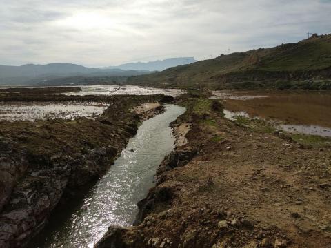 تعرض به تالاب گوری بلمک پلدختر لرستان