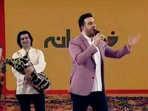 اجرای امید حاجیلی در نخستین قسمت فصل ششم خندوانه