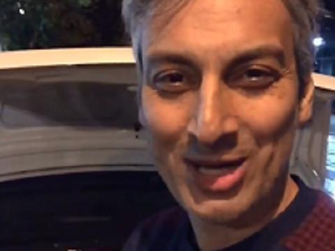 اعتراض ارژنگ امیرفضلی پس از سرقت از ماشینش