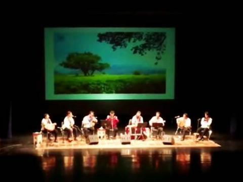 اجرای استاد ایرج رحمانپور و گروه هانای در تهران