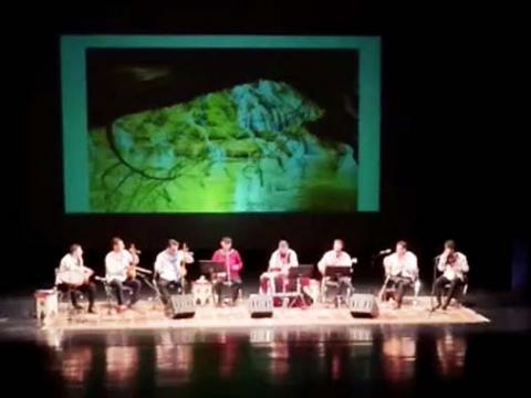 کنسرت موسیقی لری  استاد ایرج رحمانپور و گروه هانای