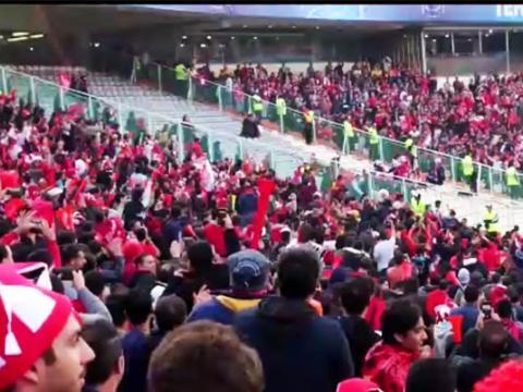لحظه باشکوه ورود زنان به ورزشگاه آزادی