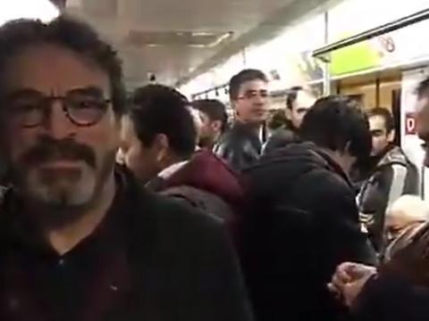 حسین علیزاده مردم تهران را به استفاده از مترو دعوت کرد