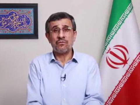 اظهارات محمود احمدی نژاد درباره حوادث بنزین