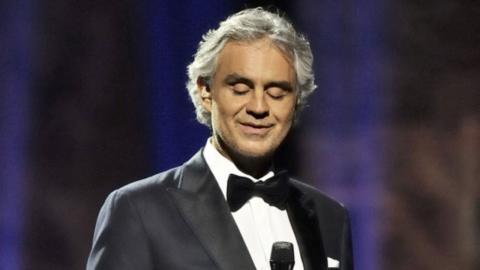 کنسرت زنده بوچلی در میلان ایتالیا